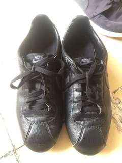 Nike cortez leather black original