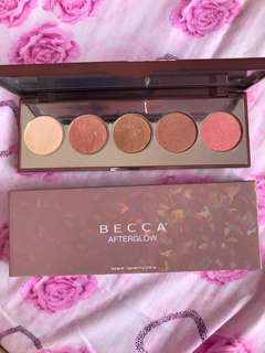 Becca Afterglow Palette
