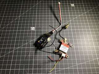 X4r sb frsky receiver with pandarc vtx 25to600mw