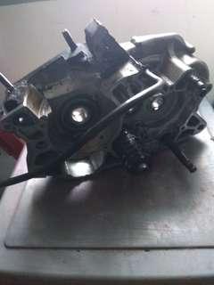 Kawasaki kr engine side casing