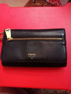 Fossil Purse (black)