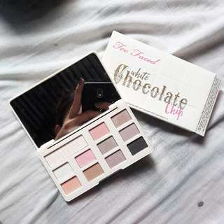 Too Faced white chocolate chip Palette Eyeshadow