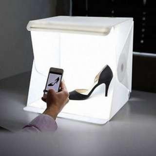 STUDIO PHOTOGRAPHY LIGHTING TENT KIT BACKDROP CUBE MINI BOX