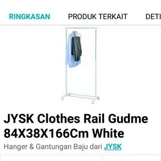 (FREE ONGKIR All )Clothes Rail gudme
