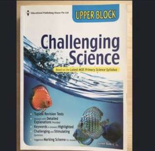 P5-6 Challenging Science (Upper Block) - New
