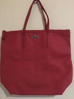 Lacoste Tote authentic