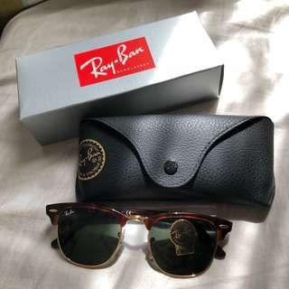 Rayban Clubmaster RB3016 49m