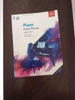 ABRSM Grade 7 Piano Exam Pieces