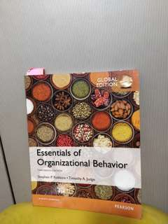 Essentials of Organizational Behavior (Stephen, Timothy) 13th edition