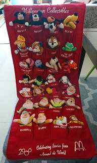 Disney Millennium collectables (mcdonalds)