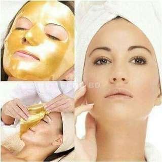 Kiss beauty 24k gold face mask