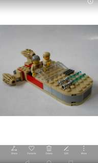 Lego system 7110 star wars 90s