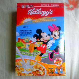 Kellogg's cereal - Mickey limited edition