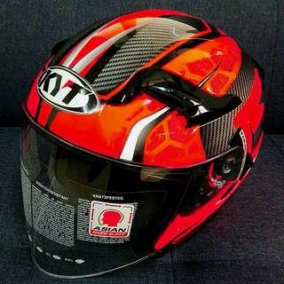 Kyt helmet venom double visor