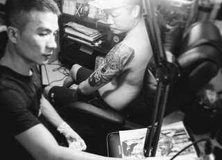 TTK Tattoo..  Whapsapp : 56356608 ..  Facebook page : TTK Tattoo Studio ..  Instagram : TTK Tattoo