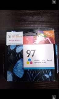 (包郵)打印機墨盒HP97 三色