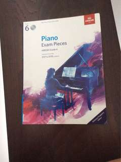 ABRSM Grade 6 Piano Exam Pieces
