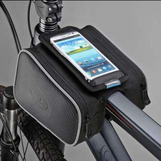 Bicycle phone pouch-water proof