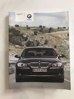 BMW 3 Series Owner's Handbook