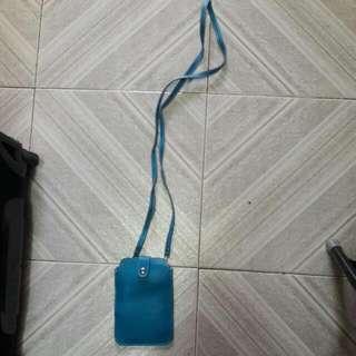 藍色電話袋