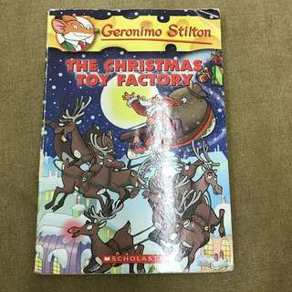 Geronimo Stilton The Christmas toy factory
