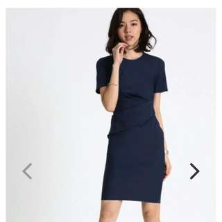 Love Bonito Heleka Ruched Dress
