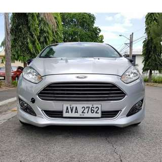 Ford Fiesta 2014 EcoBoost Automatic