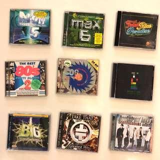 $0.70 Pop Dance Music CDs