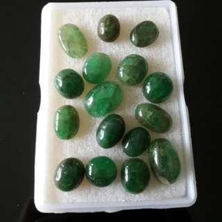 Emerald Jade Stones