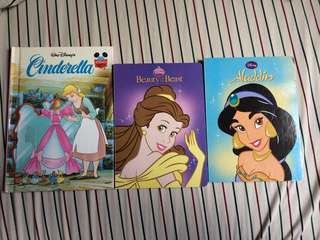 Children Books - Disney Princess