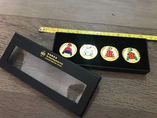 HKJC Gold Coin Set 馬會紀念金幣