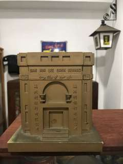 Ban Hin Lee Bank Building Coin Bank - Vintage