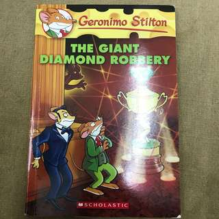 Geronimo Stilton The Giant Diamond Robbery