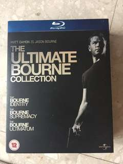 Blu Ray the ultimate Bourne collection