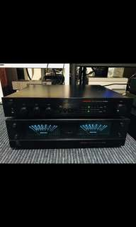 Ap2000i pre & AA2120 power amplifier (price reduced)