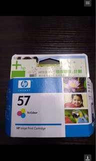 (包郵)打印機墨盒HP57 三色