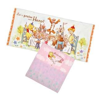 Japan Disneystore Disney Store Pooh & Friends Pooh's Day Towel Set