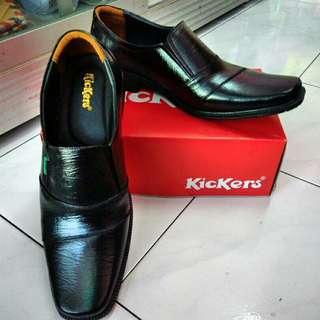 sepatu kickers kulit asli