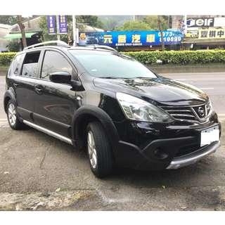 正2014年Nissan Livina霸氣黑 省油省稅國民代步車 實車實價只要28.8萬 一手車 非自售