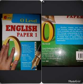 O level english composition book