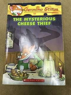 Geronimo Stilton The Mysterious Cheese Thief