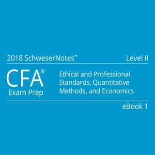 CFA 2018 Level 2 Schweser Study Notes