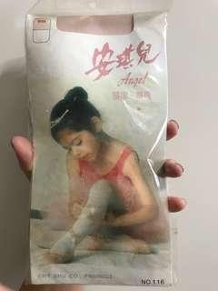 Girls Ballet Pink Stocking
