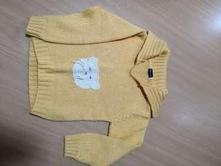 Winter knitting wear