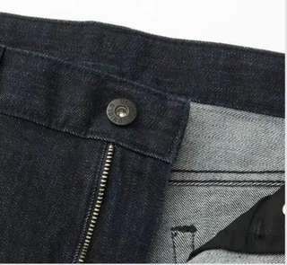 Uniqlo Slim Fit Straight Jeans (Size 33)