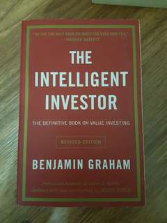 The Intelligent Investor - Recommended by Warren Buffett