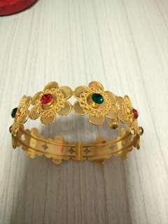 21K Gold Bangle (875 Dubai gold)