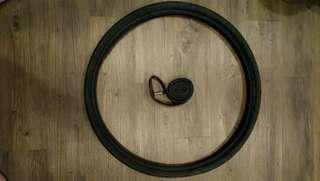 Schwalbe City Jet tyre w inner tube (26 x 1.50in)