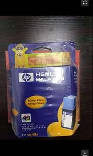 (包郵)打印機墨盒HP49三色