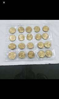 USA dollar coins collectibles